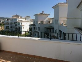 Before installation of Glass Balustrade, Sucina, Murcia, Spain